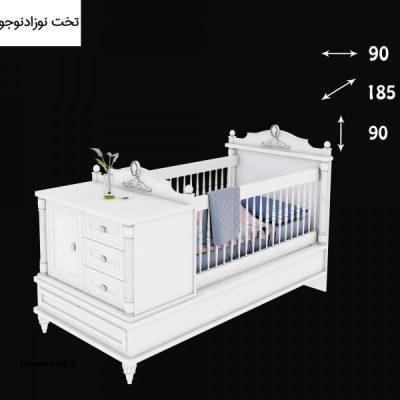 تخت نوزاد ونیز