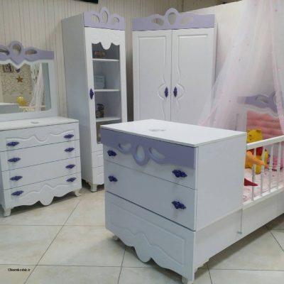 سرویس خواب کودک لیلیوم