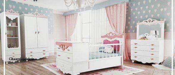 سرویس خواب نوزاد لیلیوم