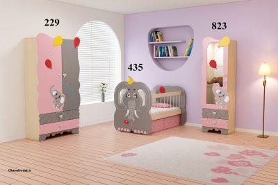 سرویس خواب نوزاد فیل