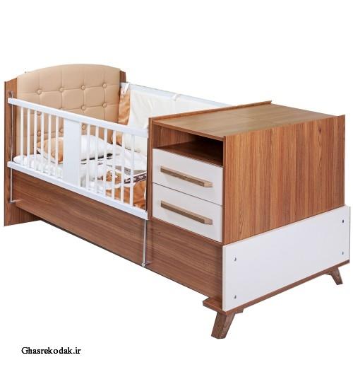 تخت دو منظوره مدل فلورانس نوزادی